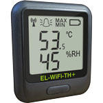 EL-WiFi-TH+ high accuracy wireless temperature and humidity data loggers