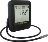 EL-WiFi-TP+ high accuracy wireless temperature data loggers with probe
