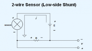 2-wire 4-20 mA current loop sensor