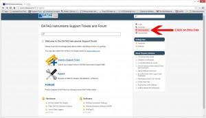 DATAQ Ticket System