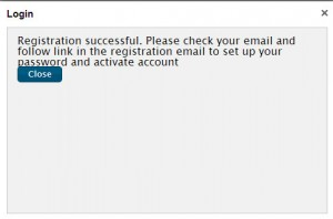 Follow the directions provided in the Email you receive