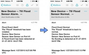 Temperature Alert Flood Sensor