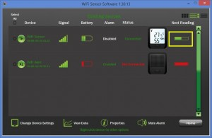 Transmitting data from your EL-WIFI Series Instrument.