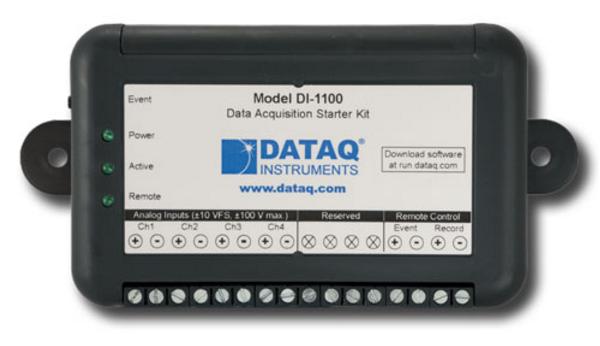 DI-1100 USB DAQ Starter Kit