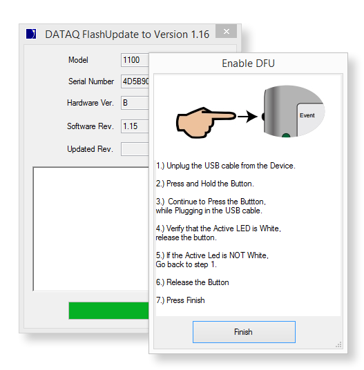 Universal Starter Kit Firmware Update Software