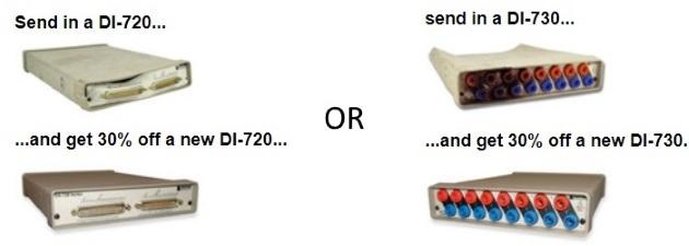 DI-720 DI-730 trade-in