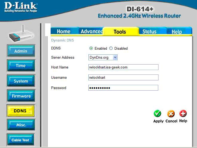 how to change internet ip address in router