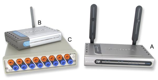 Wireless Data Acquisition Components