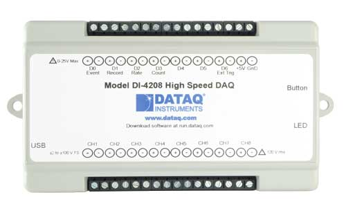 DI-4208 High Speed DAQ