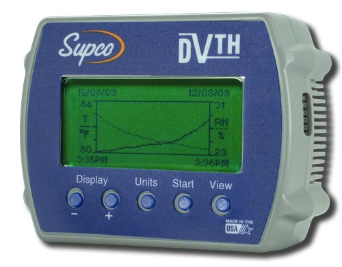DataView DVTH Data Logger for Temperature and Humidity