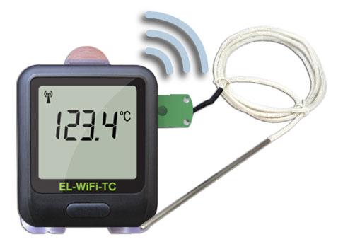 El wifi tc wireless thermocouple temperature data loggers - Thermometre connecte wifi ...