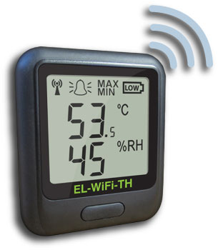Model EL-WiFi-TH Wireless Data Logger