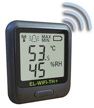 EL-WiFi-TH Wireless Temperature and Humidity Data Logger