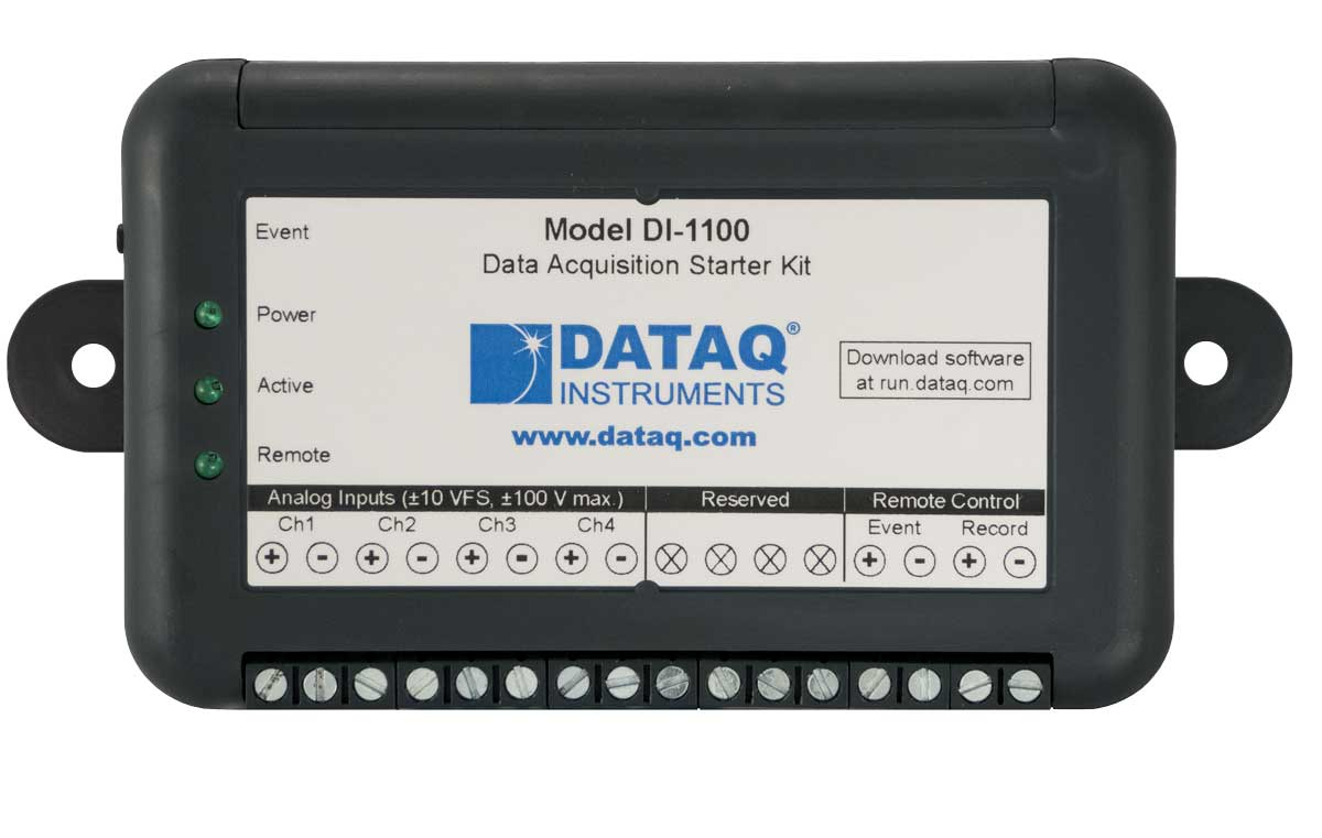 DI-1100 Data Acquisition Starter Kit