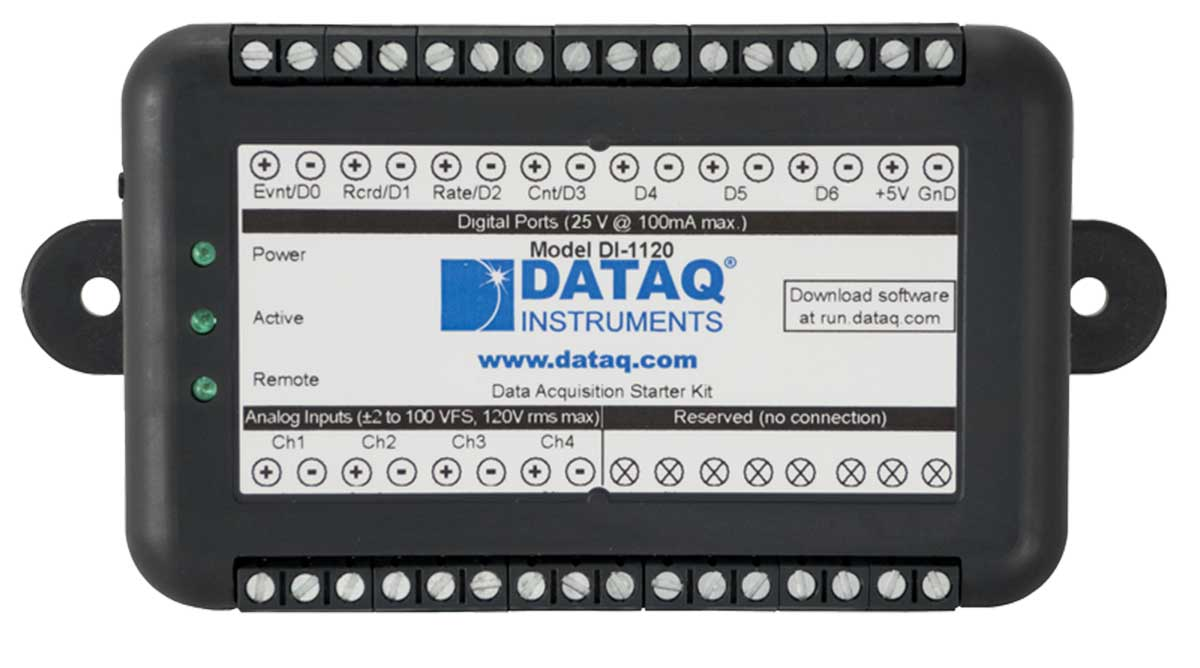 DI-1120 Data Acquisition Starter Kit