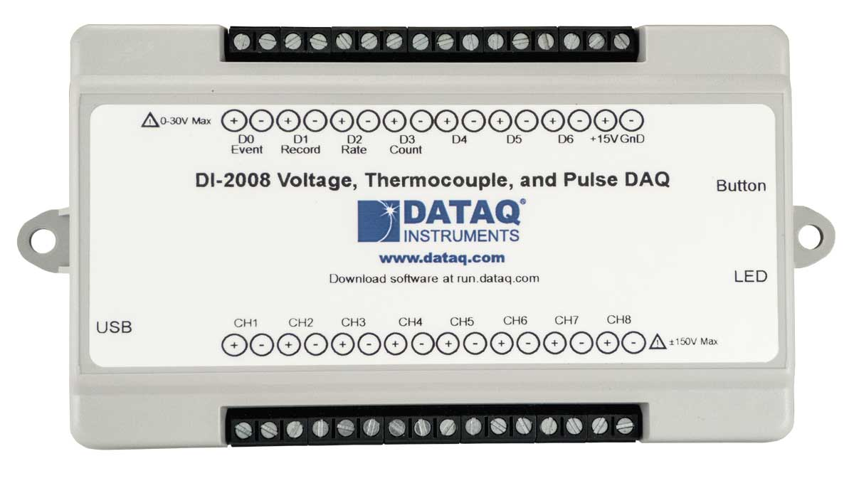 DI-2008 Thermocouple DAQ