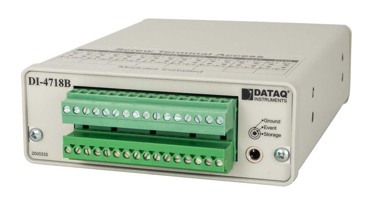 DI-4718B DAQ and Data Logger