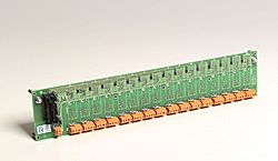 16-channel backplane for 5B modules