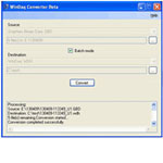 Graphtec to WinDaq file converter
