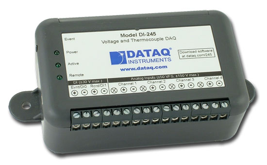 Di 245 Thermocouple And Voltage Data Acquisition System