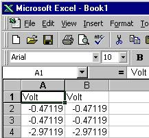 Port data acquired from you data logger directly to Excel.