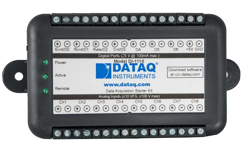 DI-1110 Data Acquisition Starter Kit
