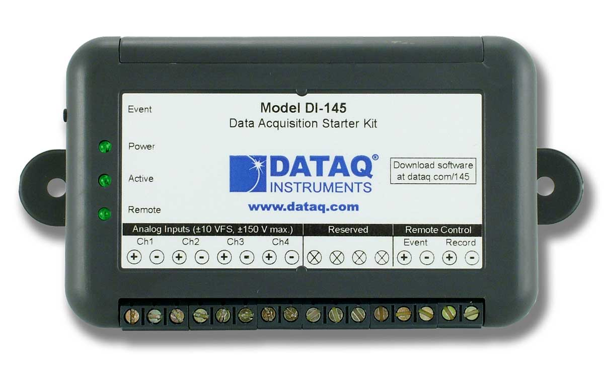 DI-145 Data Acquisition Starter Kit