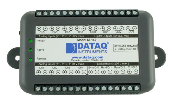 DI-149 USB Data Acquisition Starter Kit