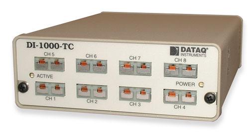 English In Italian: Thermocouple Data Acquisition Model DI-1000TC-8