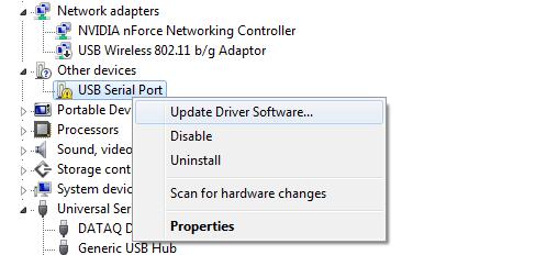 скачать драйвер Com порта для Windows 7 - фото 3