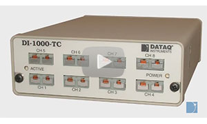 Introducing the DI-1000-TC  Thermocouple Data Acquisition System
