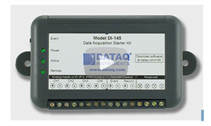 Introduction to the DI-145 USB Data Acquisition Starter Kit