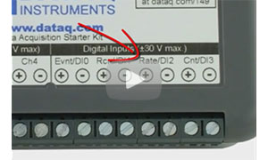 How to Use the DATAQ Instruments DI-2108 Rate Channel