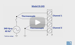 The DI-245 and Common Mode Rejection