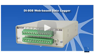 Introducing the DI-808 Voltage and Thermocouple DAQ