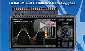 Introduction to the GL840 Graphtec Data Logger